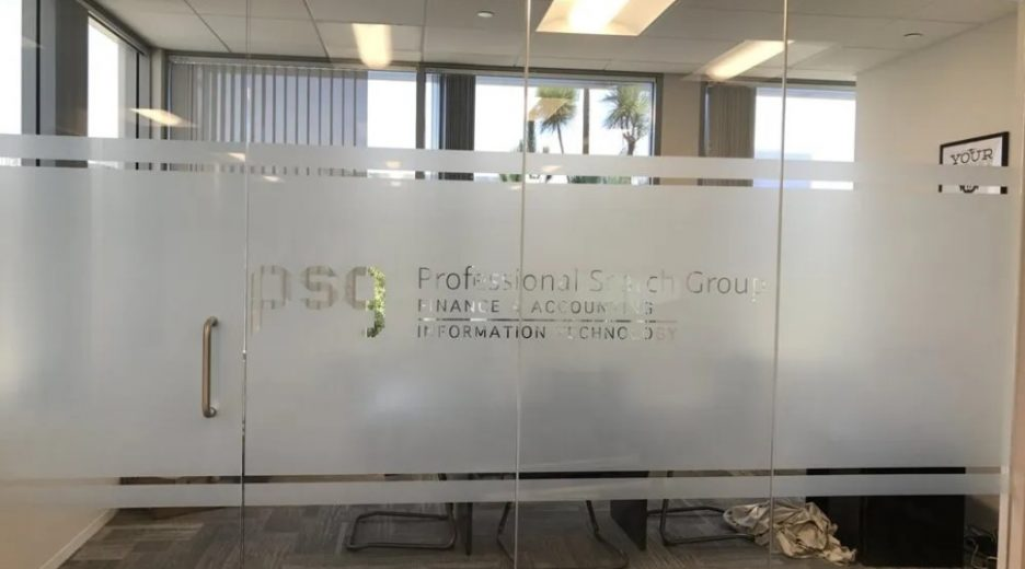 Privacy Film Installed in Conference Room | San Diego, CA