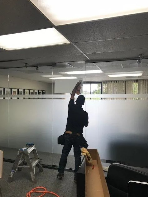 privacy window project installation