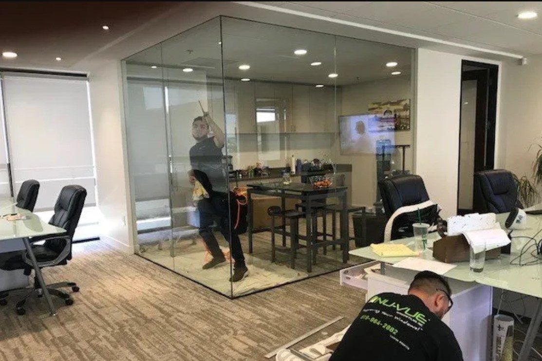 window film in commercial building e1584995895944